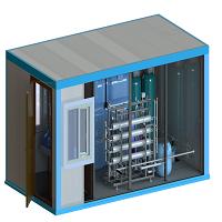 Блок-контейнер  9,0*2,4*2,4